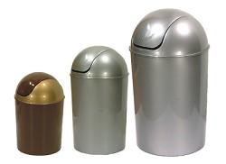 Koš OSCAR odpadkový kulatý s víkem 15L