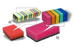 Houbička barevná-standardní, balení 10ks