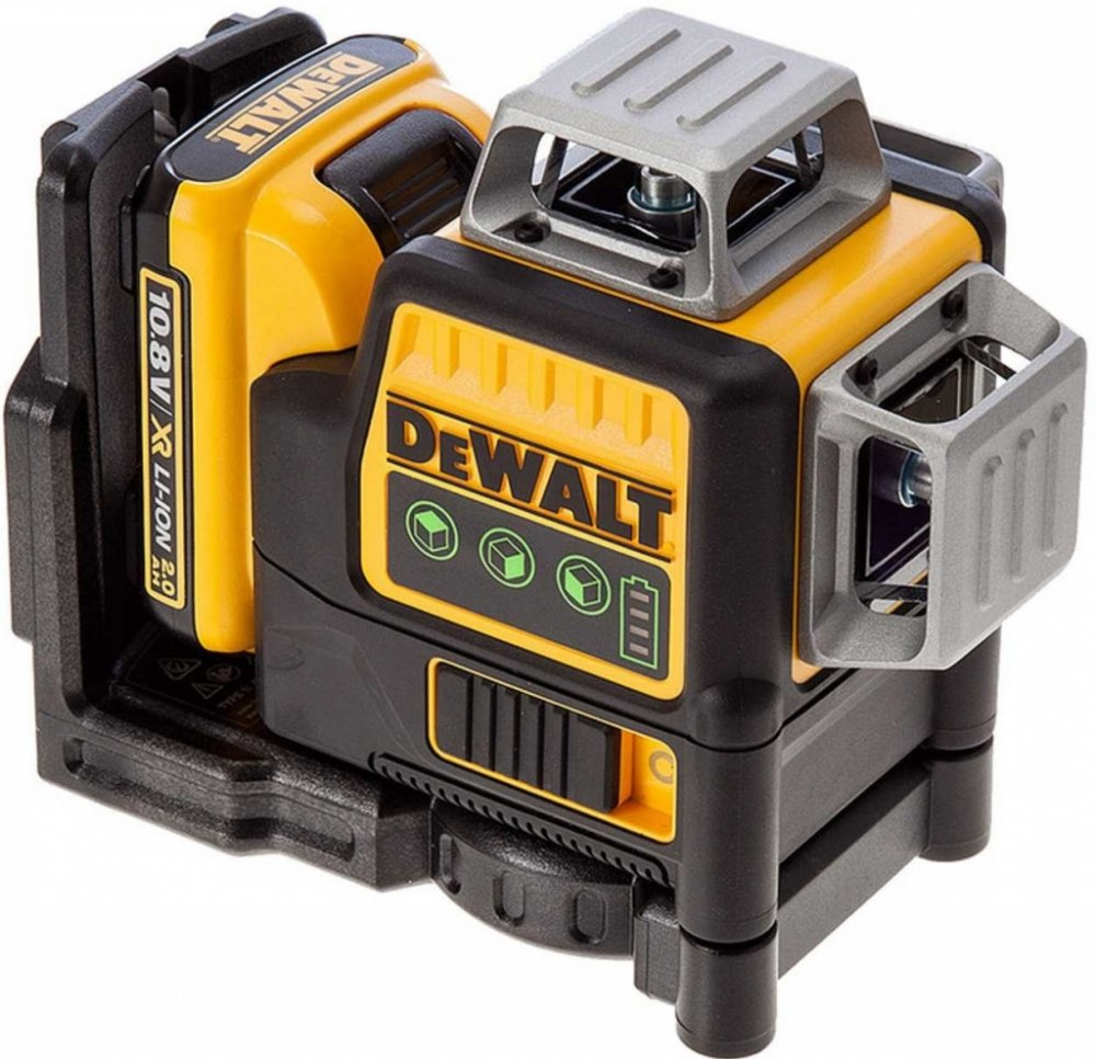 DeWalt DCE089D1G-QW ZELENÝ Multi Line Laser, 1 x 10,8 V XR akumulátor, nabíječka