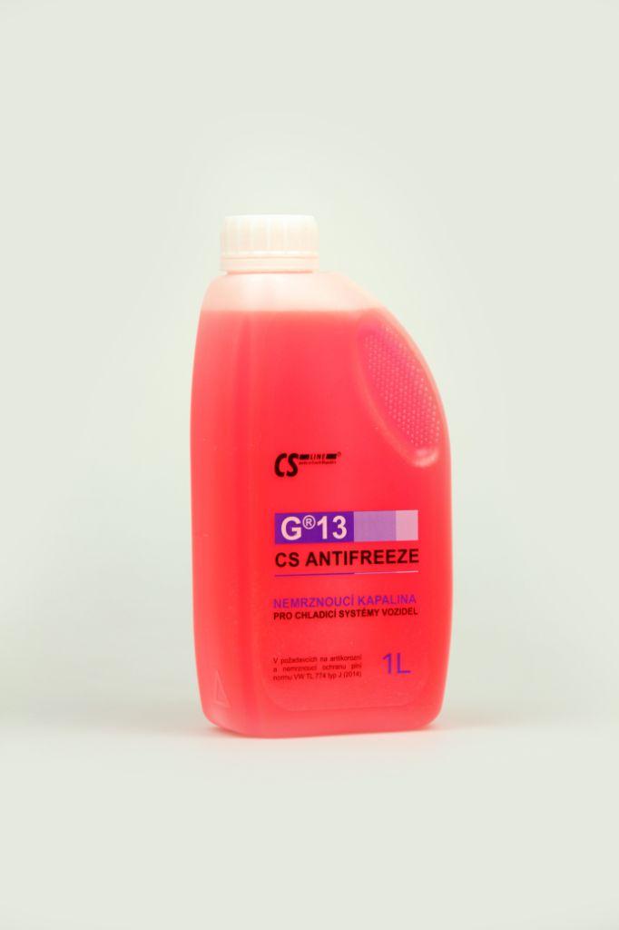CS Antifreeze G13 1 l (Nemrznoucí chladící kapalina)