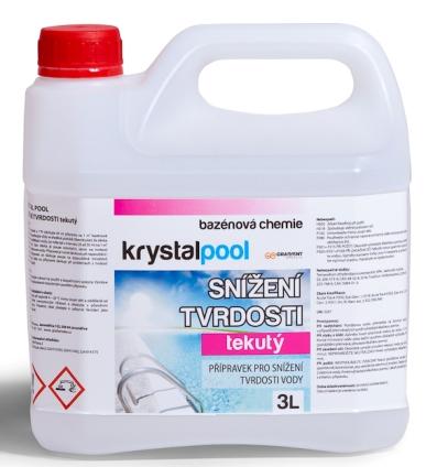 Krystalpool Snížení tvrdosti 3 l