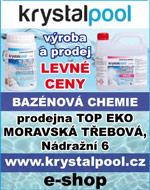 Bazénová chemie Krystalpool